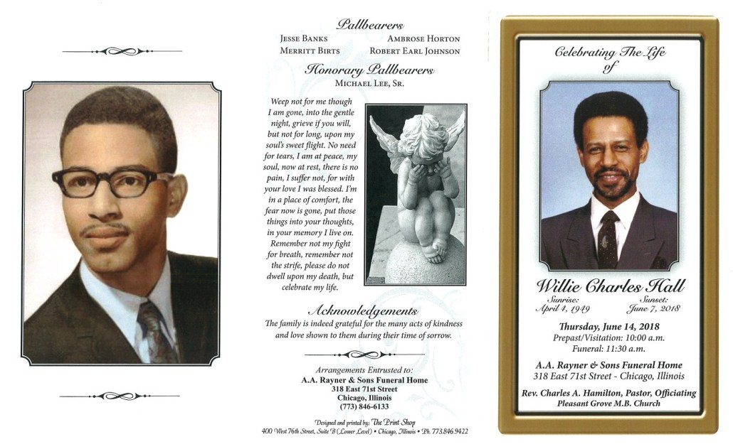 Willie Charles Hall Obituary