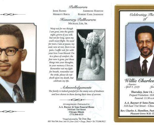 Willie Charles Hall Obituary