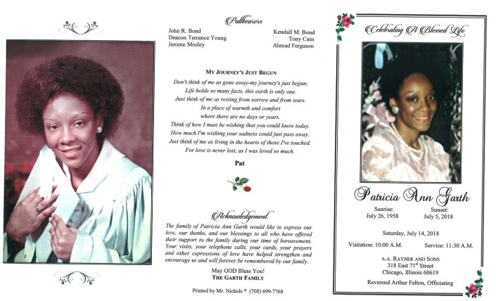 Patricia Ann Garth Obituary
