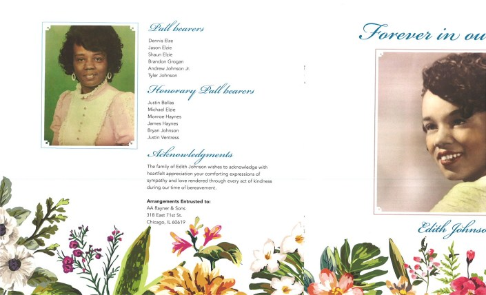Edith Johnson Obituary