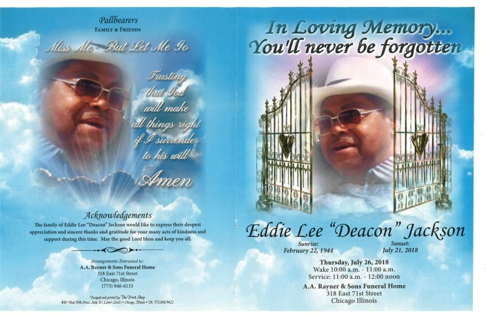 Eddie Lee Deacon Jackson Obituary