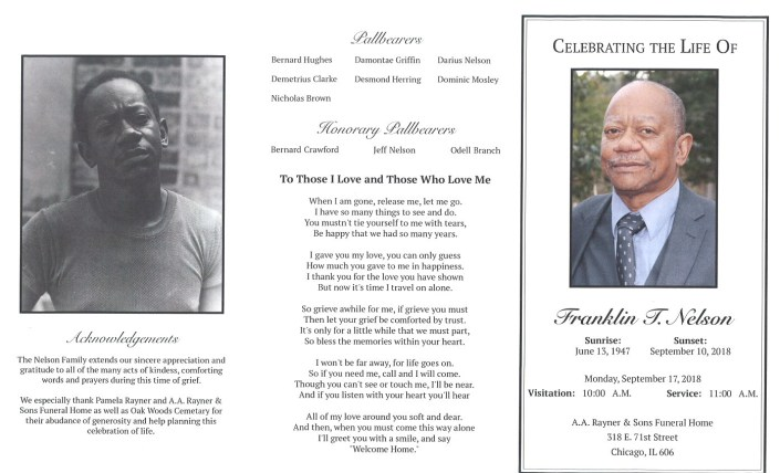Franklin T Nelson Obituary