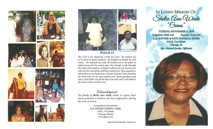 Shelia Ann Wade Obituary