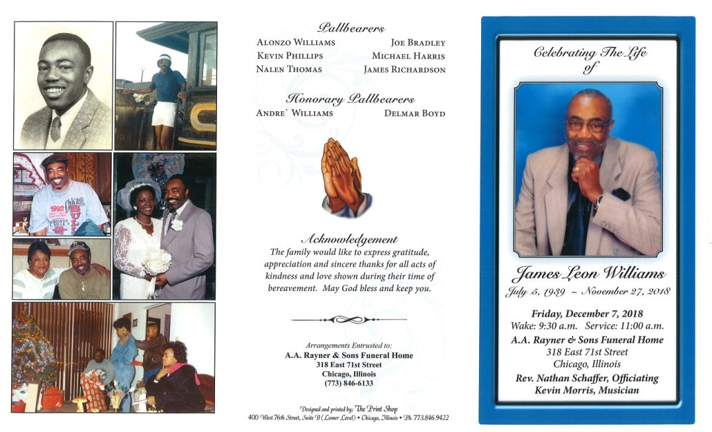 James Leon Williams Obituary