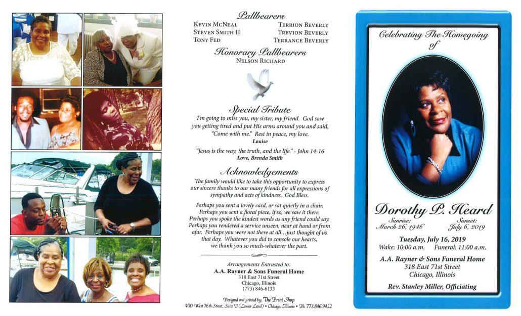 Dorothy Heard Obituary