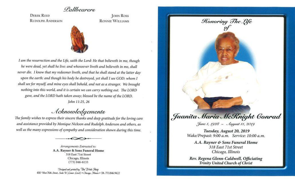 Juanita Conrad Obituary