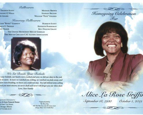 Alice Griffin Obituary