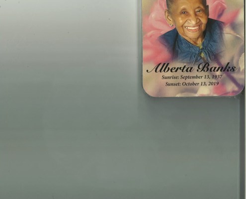 Alberta Banks Obituary