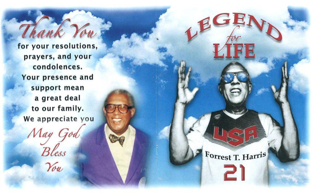 Forrest T Harris Obituary