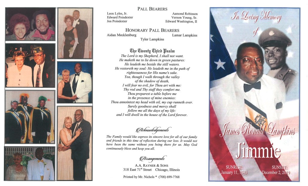 James R Lampkins Obituary