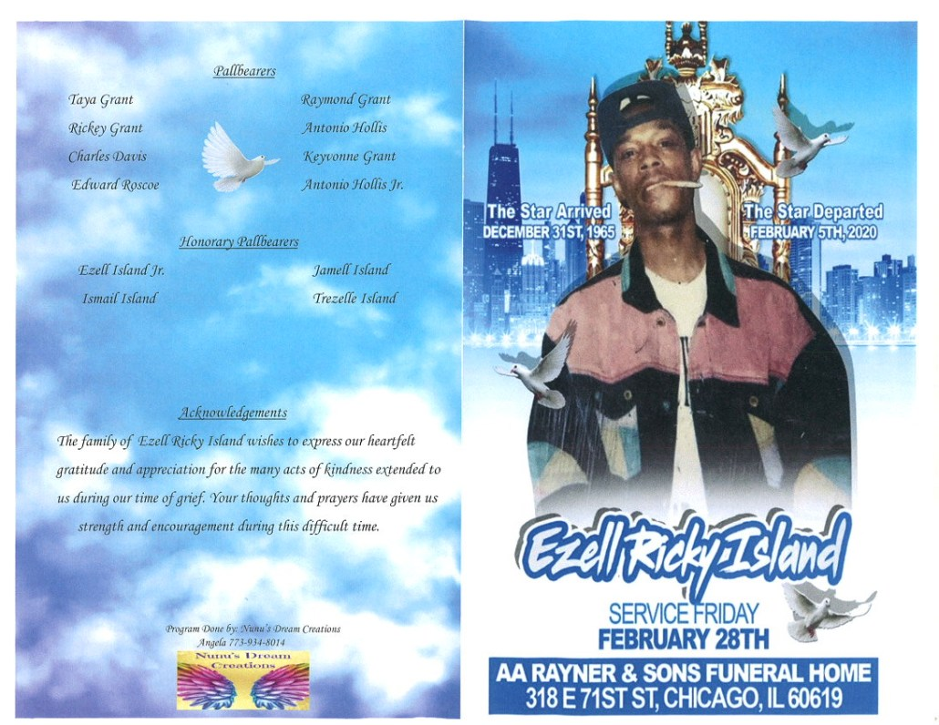 Ezell Ricky Island