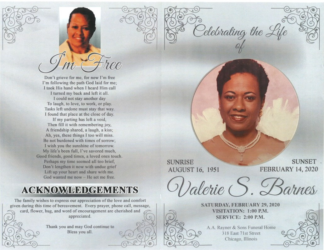 Valerie S Barnes