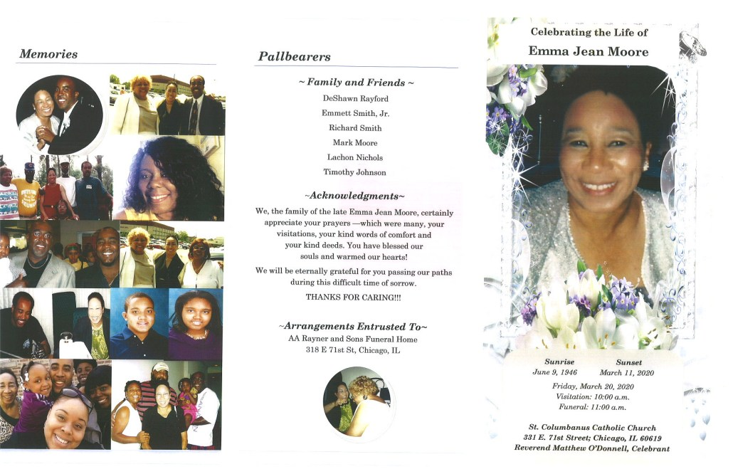 Emma Jean Moore Obituary