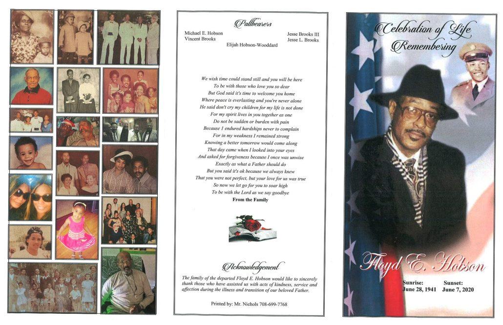Floyd E Hobson Obituary