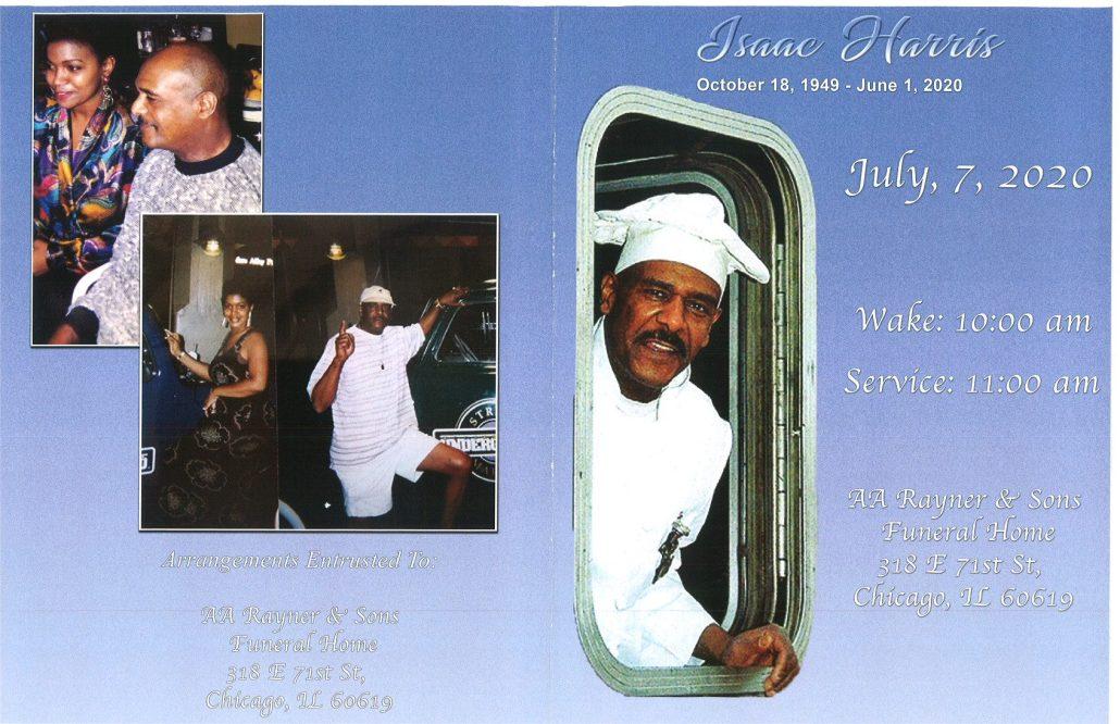 Isaac Harris Obituary