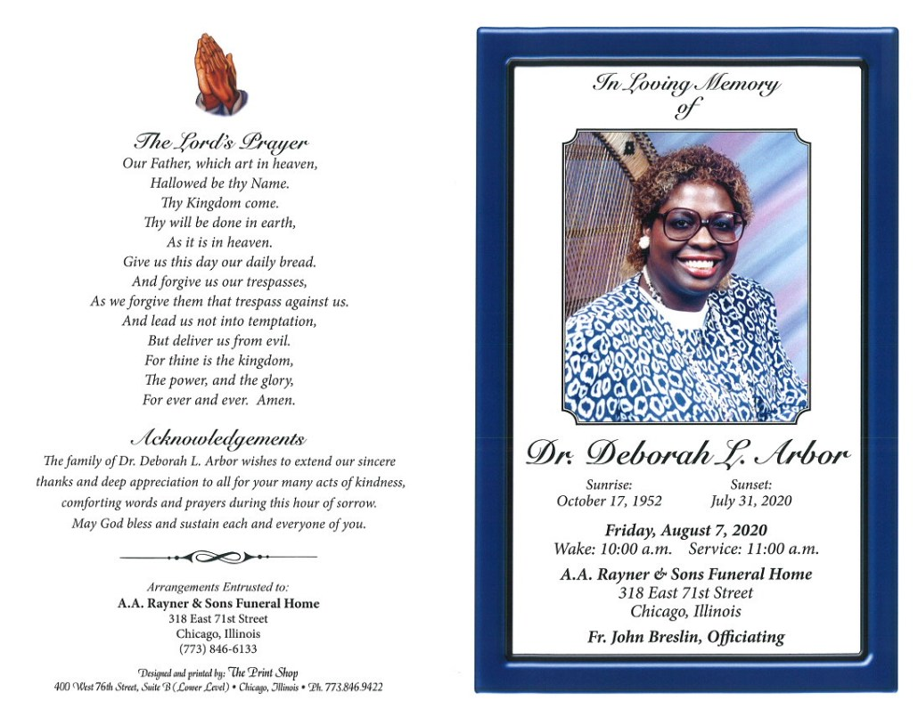 Deborah L Arbor Obituary