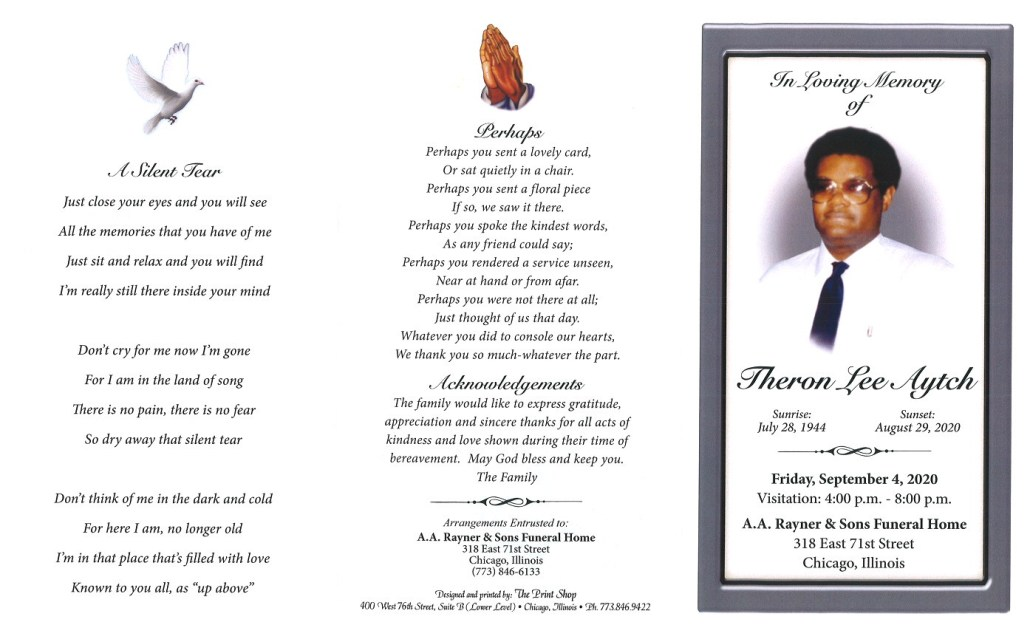 Theron L Aytch Obituary