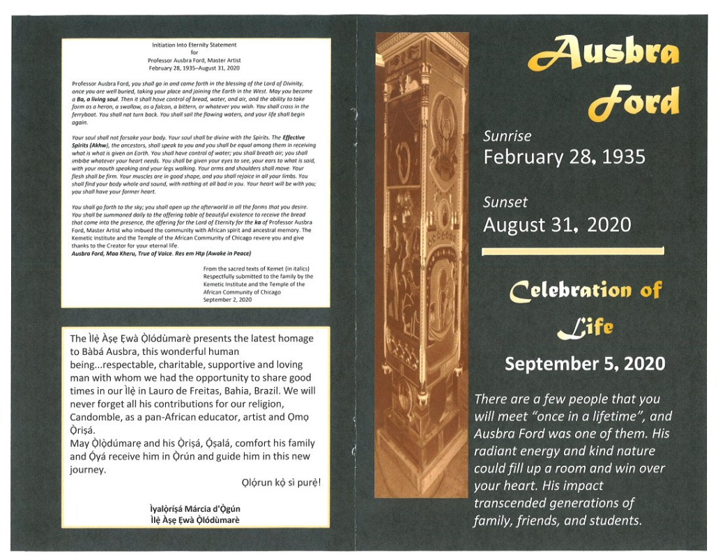 Ausbra Ford Obituary