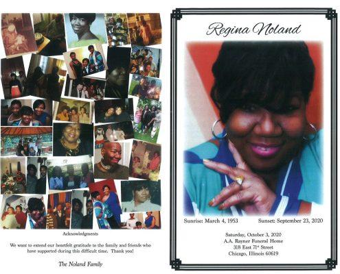 Regina Noland Obituary