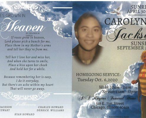 Carolyn Y Jackson Obituary