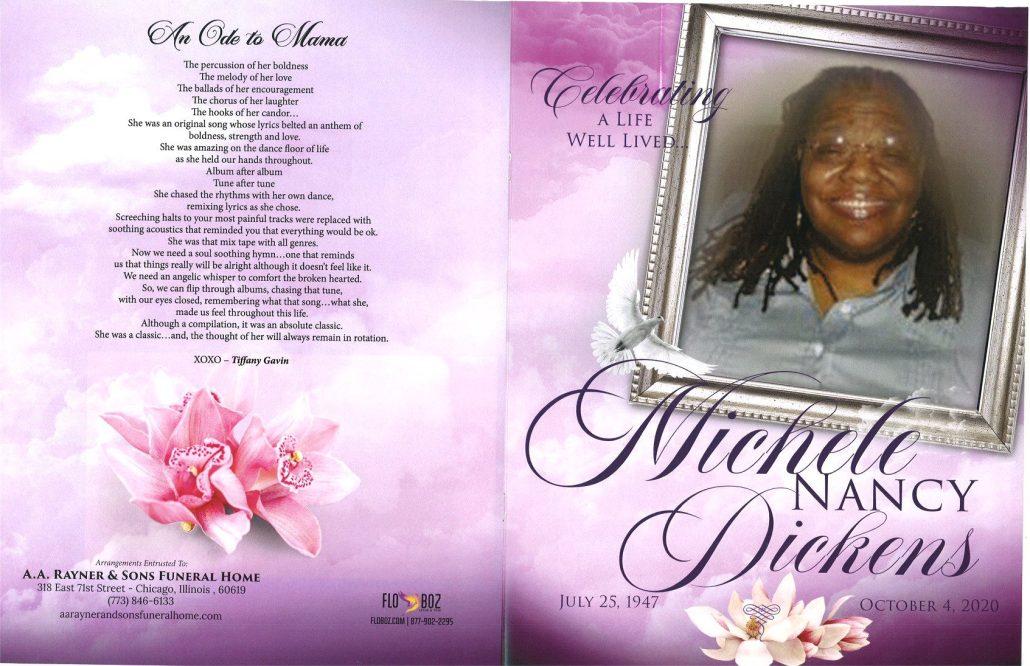 Michele N Dickens Obituary