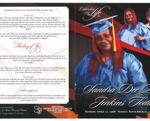 Sandra J Todd Obituary