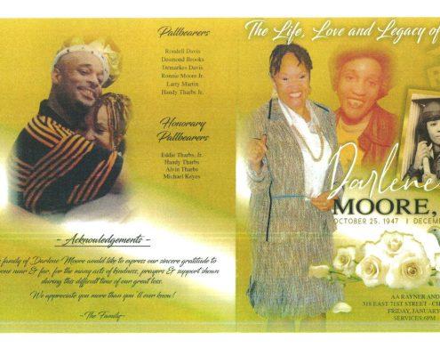 Darlene T Moore Obituary
