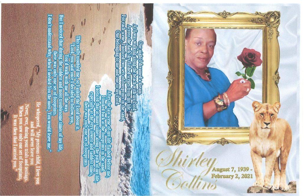 Shirley Collins Obituary