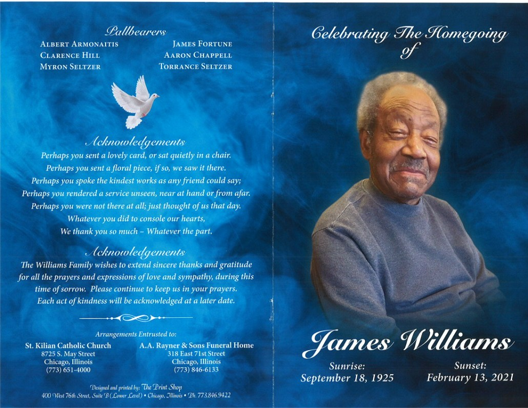 James Williams Obituary