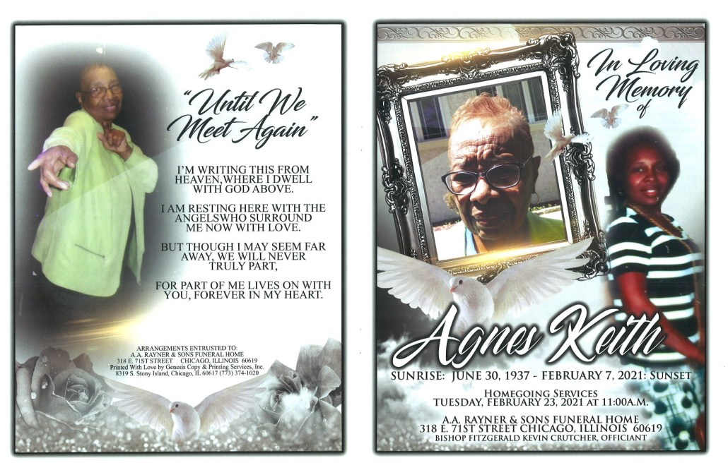 Agnes Keith Obituary