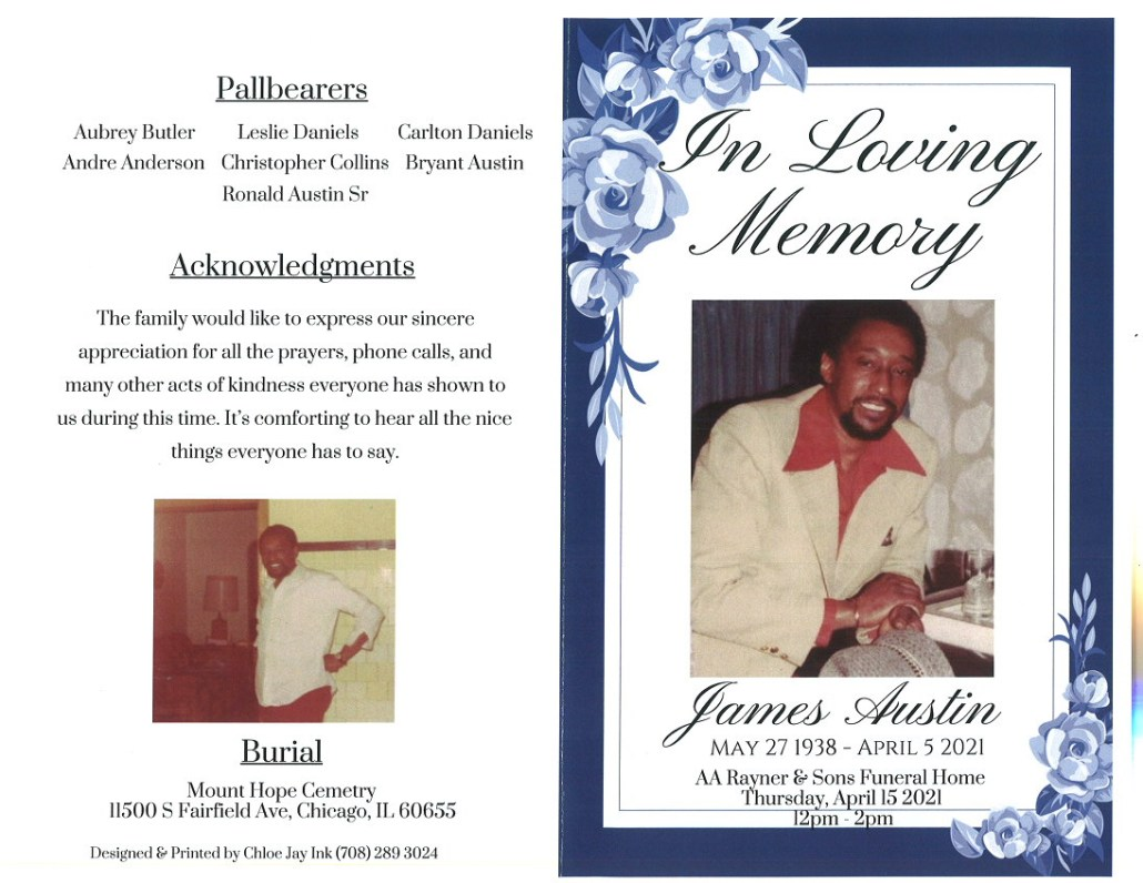 James Austin Obituary