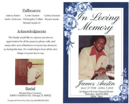 James Austin Obituary