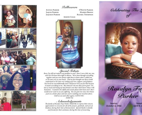 Rosalyn Parker Obituary