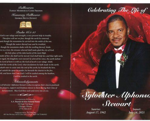 Sylvester A Stewart Obituary