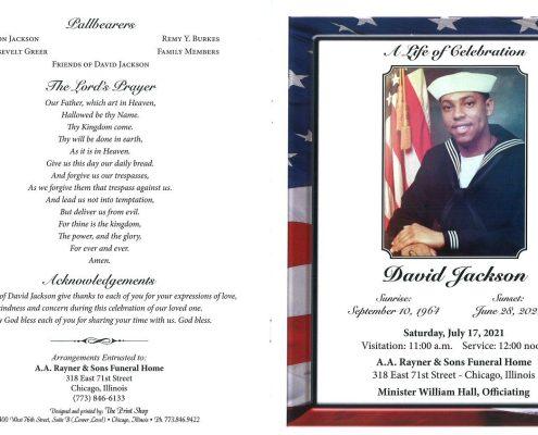 David Jackson Obituary