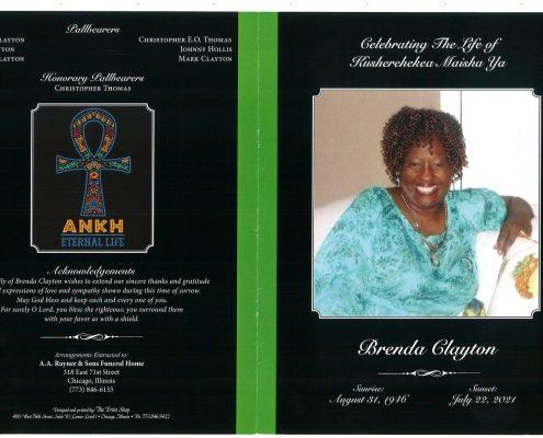 Brenda Clayton Obituary