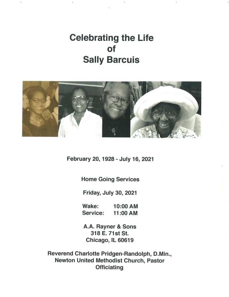 Sally Barcuis Obituary