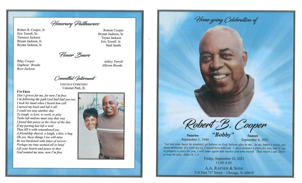 Robert B Cooper Obituary