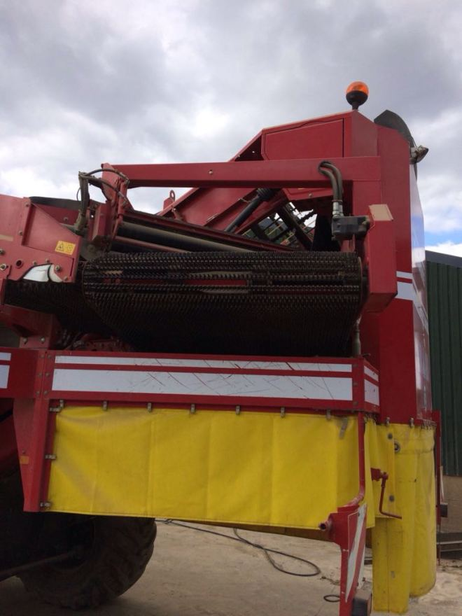 Grimme SE 150-60 NB XXL afvoerband