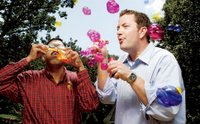 The 11 Year Quest to Create Disappearing Colored Bubbles
