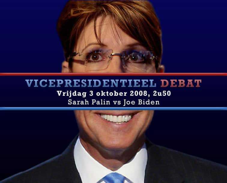 Debat tussen Sarah Palin en Joe Biden