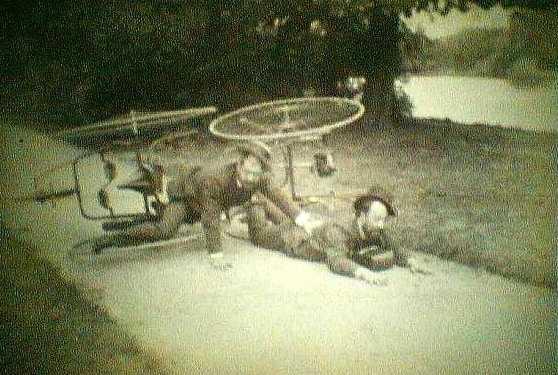 fiets vallen ongeluk