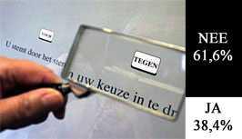 Nederland stemt tegen Europese grondwet