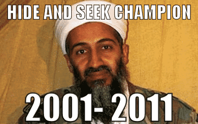Osama Bin Laden is dood