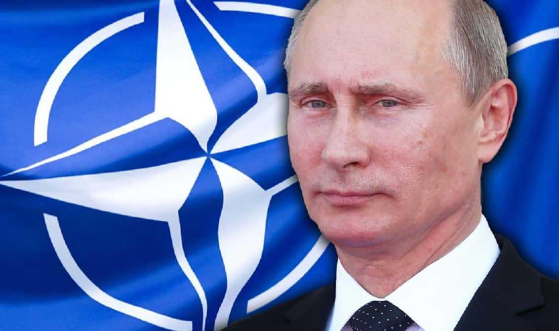 Vladimir Poetin en de NATO