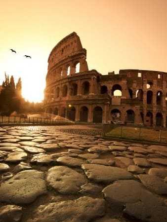Rome en Colosseum