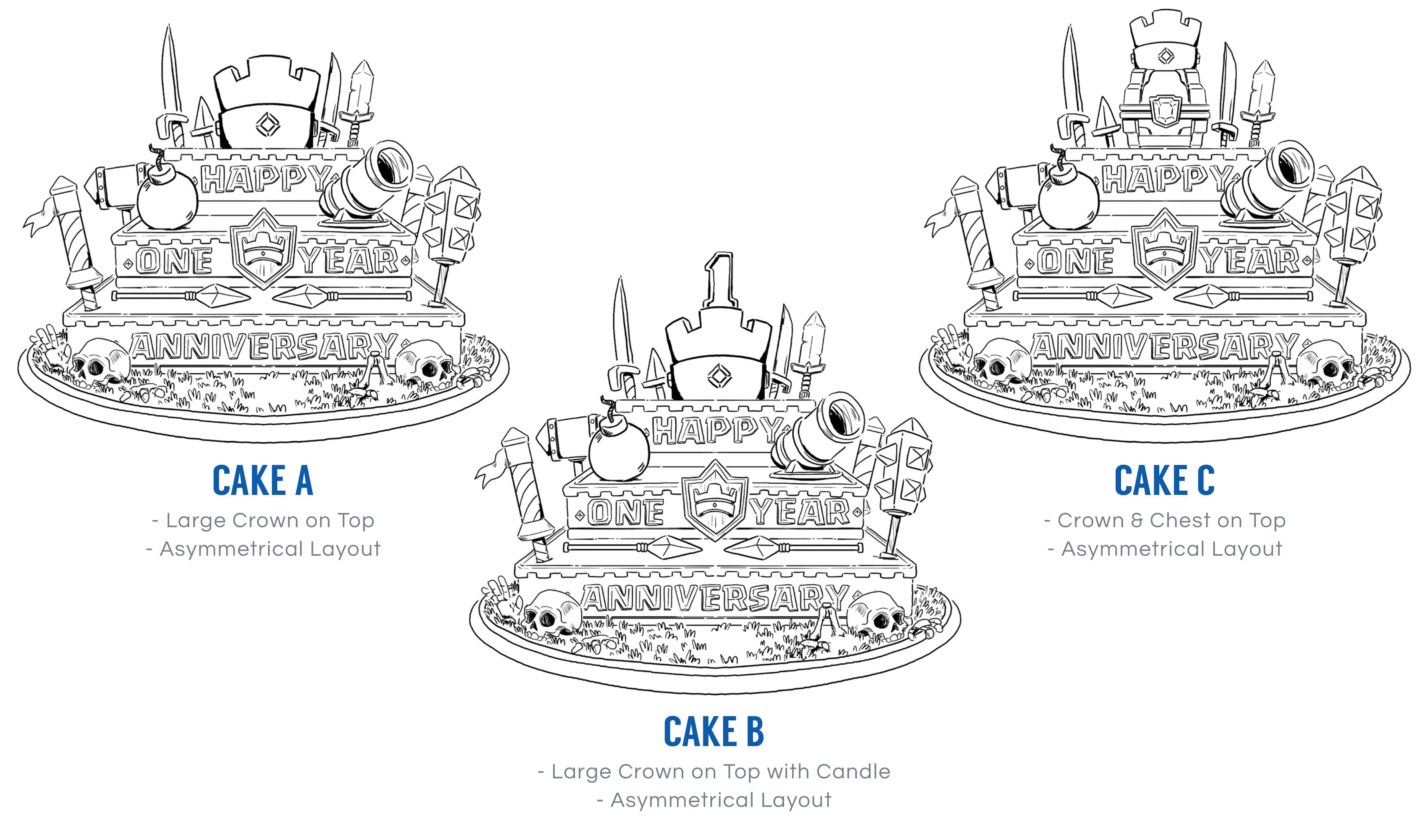 Clash Royale Cake Explosion