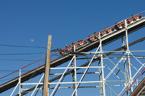 The Cyclone (Coney Island, Brooklyn, NY)
