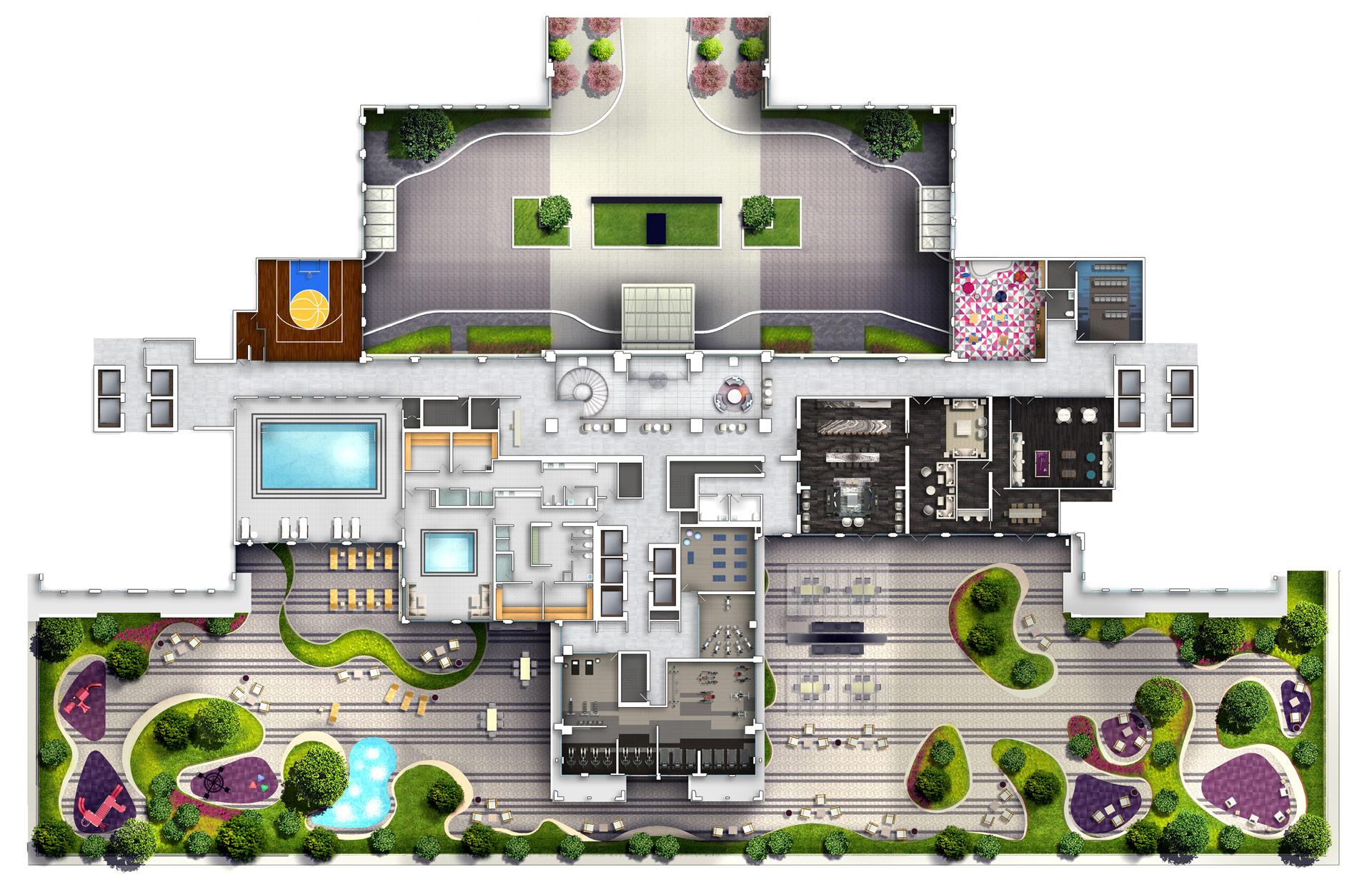 Floor Plans & Site Plans