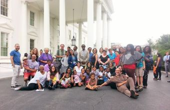 The Jewish Multiracial Network visited the White House in July 2015